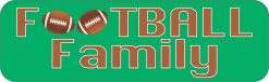 Football Family Vinyl Sticker