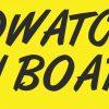 Birdwatcher on Board Vinyl Sticker