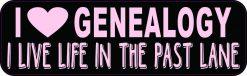 I Love Genealogy Magnet