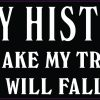 Family Historian Vinyl Sticker