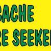 Geocache Treasure Seeker Vinyl Sticker