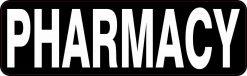 Pharmacy Vinyl Sticker