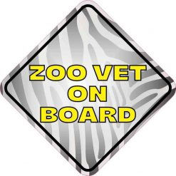 Zoo Vet on Board Magnet