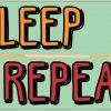 Eat Sleep Pool Repeat Magnet