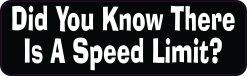 Did You Know There Is a Speed Limit Magnet
