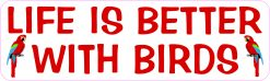 Life Is Better with Birds Magnet