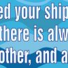 If You Missed Your Ship There Is Another Vinyl Sticker