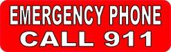 Emergency Phone Call 911 Magnet