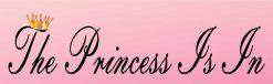 The Princess Is in Vinyl Sticker