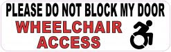 Dynamic Disability Wheelchair Access Vinyl Sticker