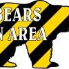 Die Cut Bears in Area Vinyl Sticker