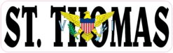 Flag St Thomas Virgin Islands Magnet