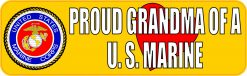 Proud Grandma of a US Marine Magnet