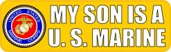 My Son Is a US Marine Vinyl Sticker
