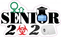 Biohazard Senior 2020 Vinyl Sticker