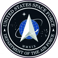 United States Space Force Seal Vinyl Sticker