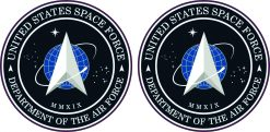United States Space Force Seal Vinyl Stickers