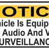 Vehicle Audio and Video Surveillance Magnet