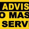 No Mask No Service Magnet