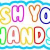 Wash Your Hands Vinyl Sticker