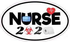 Biohazard Nurse 2020 Vinyl Sticker