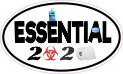 Oval Essential 2020 Vinyl Sticker