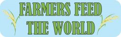 Rice Farmers Feed the World Magnet