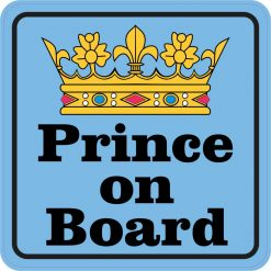 Prince on Board Magnet