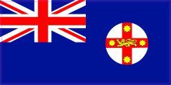 New South Wales Flag Vinyl Sticker