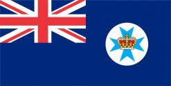 Queensland Flag Vinyl Sticker