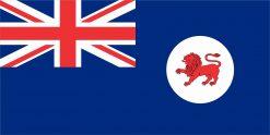 Tasmania Flag Vinyl Sticker
