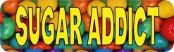 Sugar Addict Vinyl Sticker