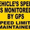 Speed Monitored by GPS Magnet