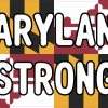 Maryland Strong Vinyl Sticker