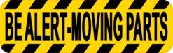 Be Alert Moving Parts Vinyl Sticker