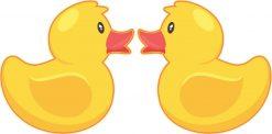 Rubber Duck Vinyl Stickers