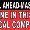 Call Ahead Medical Complications Vinyl Sticker