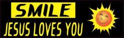 Smile Jesus Loves You Vinyl Sticker