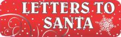 Letters to Santa Vinyl Sticker