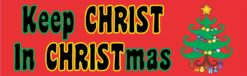 Keep Christ in Christmas Vinyl Sticker
