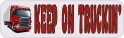 Keep on Truckin Vinyl Sticker
