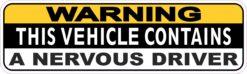 Vehicle Contains a Nervous Driver Magnet