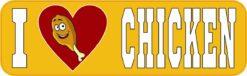 I Love Chicken Magnet