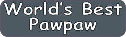 Worlds Best Pawpaw Vinyl Sticker