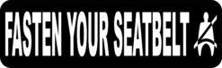 Fasten Your Seatbelt Vinyl Sticker