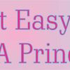 Its Not Easy Being a Princess Vinyl Sticker