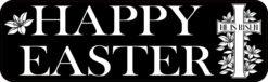 He Is Risen Happy Easter Vinyl Sticker