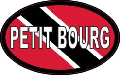 Flag Oval Petit Bourg Vinyl Sticker