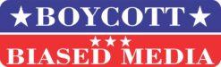 Boycott Biased Media Magnet