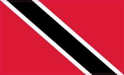 Trinidad and Tobago Flag Vinyl Sticker